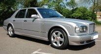 Bentley Arnage R in Silver Storm