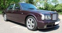 Bentley Arnage T in Black Garnet