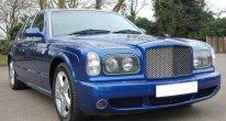 Bentley Arnage T Mulliner in Moroccan Blue