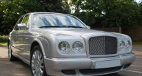 Bentley Arnage R in Silver Storm
