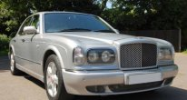 Bentley Arnage Red Label in Silver Pearl