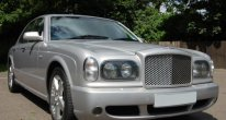 Bentley Arnage T in Silver Storm