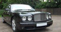 Bentley Arnage T Mulliner in Diamond Black