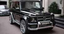 2014 Brabus 700 based on Mercedes-Benz G63 AMG
