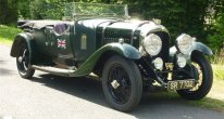 Bentley 4.5 litre Cadogan tourer