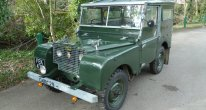 1949 Land Rover Series 1 - Ring pull gearbox
