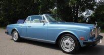 Rolls Royce Corniche Convertible in Larkspur Blue
