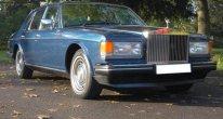 Rolls Royce Silver Spirit in Royal Blue
