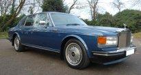 Rolls Royce Silver Spirit MK II Active Ride in Cobalt Blue