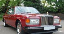 Rolls Royce Silver Spirit in Claret
