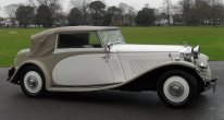 Bentley 3 1/2 Litre  Drophead Coupe by James Young 1934