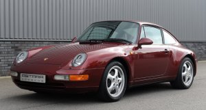Porsche 993 C2 coupe arena red
