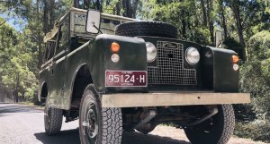 "1963 Land Rover Series 2A 88"" in Bronze Green"