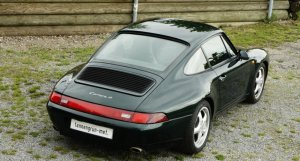 Porsche  993 Carrera 4 tannengrün