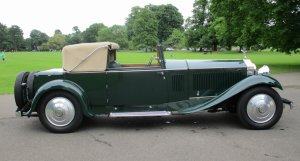 1931 Rolls-Royce Phantom II Continental Park Ward Style Three Position Drophead Coupe