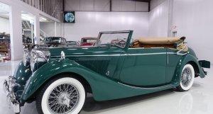 1948 Jaguar 3½ Litre Mark IV Three Position Drophead Coupe