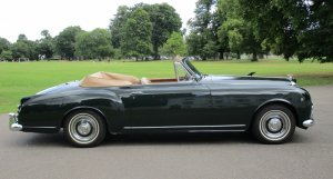 1955 Bentley S1 Continental Drophead Coupe (Adaptation) by Park Ward