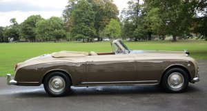 1958 Bentley S1 Continental Drophead Coupe by Park Ward