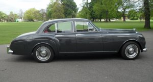 1959 Bentley S1 Continental Six Light Flying Spur by H.J.Mulliner
