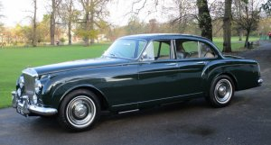 1960 Bentley S2 Continental Six Light Flying Spur by H.J.Mulliner