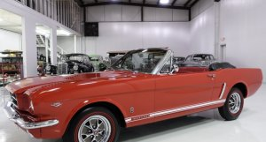 1965 Ford Mustang Convertible for sale by Daniel Schmitt & Co classic car gallery, st louis, classic mustang for sale