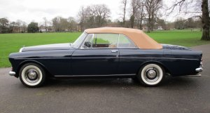 Bentley S3 Continental Drophead Coupe by Mulliner/Park Ward