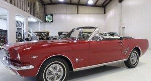 1966 Ford Mustang Convertible for sale at Daniel Schmitt & Co.