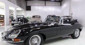 1967 Jaguar E-Type Series I 4.2 Roadster for sale by daniel schmitt & Co classic cars st. louis