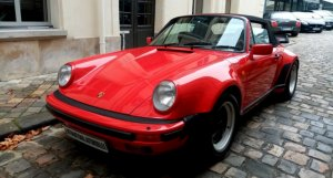 Porsche 930 turbo cabriolet