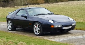Porsche 928 GTS Front Right and Side