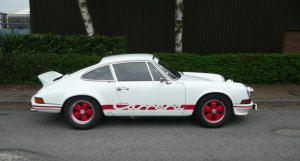 Porsche 911 2.7 RS Lightweight LHD for sale at Specialist Cars of Malton