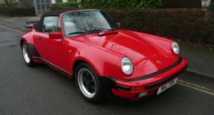 Porsche 911 3.2 Supersport Cabriolet for sale at Specialist Cars of Malton