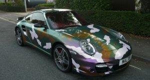 Porsche 997 Turbo Marmite Edition for sale at Specialist Cars of Malton
