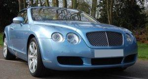 Bentley GTC in Silverlake
