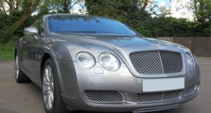 Bentley Continental GT in Silver Tempest