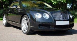 Bentley Continental GTC Mulliner  in Diamond Black