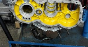 P400 Engine Block renovated
