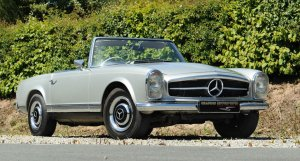 1967 Mercedes Benz 250 SL Pagoda manual for sale