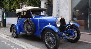 Bugatti Type 40 1927 front 3/4