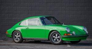 1973 Porsche 911S in Kelly Green