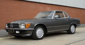 Mercedes-Benz 560SL W107 Series 1987