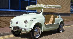 1963 Fiat 500 Jolly For Sale In London (LHD)