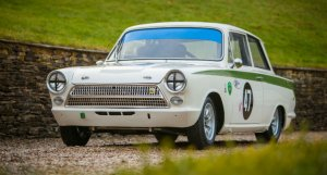 The Leo Voyazides / Simon Hadfield Lotus Cortina Mk1 For Sale at William I'Anson Ltd.