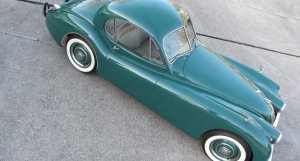 Jaguar XK120 Fixed Head Coupe Classic & Race Cars Peter Schleifer & Co.
