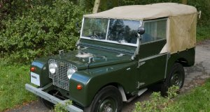 """Heritage Cars Land Rover 80"""""""