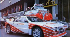 1983 LANCIA 037 GROUP B EMINENCE FOR SALE