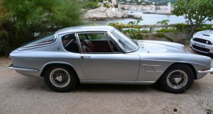 Maserati Mistral original side