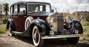 Rolls Royce 25/30 year 1938  King Faruq I of Egypt