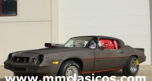 MM CLÁSICOS CHEVROLET CAMARO DRAGSTER MUSCLE CAR 1978