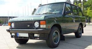 Range Rover Classic in der schönsten Farbkombination